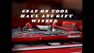 Download Snap On Tool Haul and Gift Winner Video