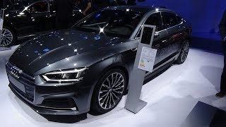 Download 2018 Audi A5 Sportback g-tron - Exterior and Interior - IAA Frankfurt 2017 Video