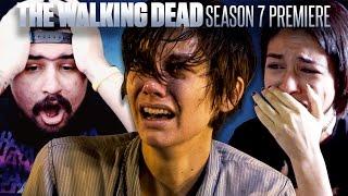 Download The Walking Dead: Season 7 Premiere Fan Reaction Compilation Video