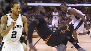 Download Kawhi Leonard vs LeBron James! Kawhi Career High 41 Pts! Spurs vs Cavs Video