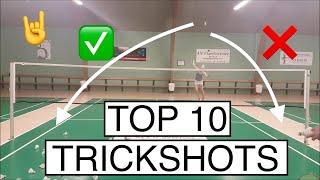 Download TOP 10 BADMINTON TRICK SHOTS - BadmintonExercises 🏸 Video