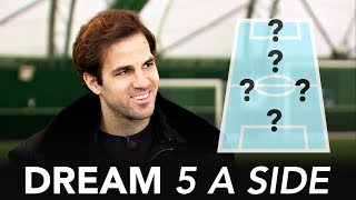 Download Who's the better striker; Thierry Henry or Diego Costa?   Cesc Fabregas Dream 5-A-Side Video