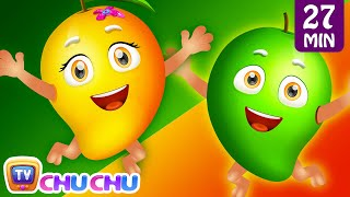 Download Mango Song | Fruits for Kids | Johny Johny Yes Papa, Rain Rain Go Away | Nursery Rhymes by ChuChu TV Video
