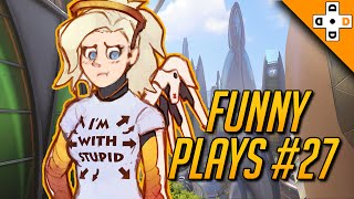 Download OVERWATCH FUNNY PLAYS #27 - Mercy Tries to Make a Friend Video