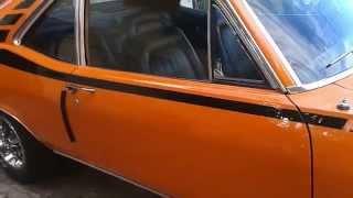 Download Coupe Chevy Serie 2 1973 Naranja Salvaje Video