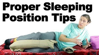Download Proper Sleeping Position Tips - Ask Doctor Jo Video