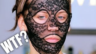 Download $330 LACE FACE MASK ... WTF ??? Video