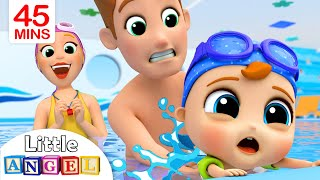 Download This is the Way I Learn to Swim | Swimming Song Compilation by Little Angel Video