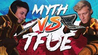 Download Myth vs Tfue & HighDistortion - Pro Playgrounds (1v1 BUILD BATTLES!) Video