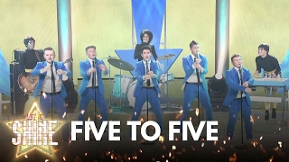 Download Five To Five perform 'Tell Her About It' by Billy Joel - Let It Shine - BBC One Video