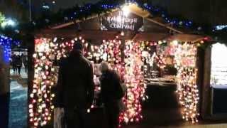 Download Christmas Markets at Tate Modern Bankside London Video
