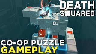 Download Death Squared: Co-op Puzzle Gameplay with ROBOTS! Video