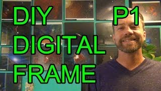 Download DIY Raspberry PI Digital Picture Photo Frame - P1 Video