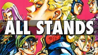 Download ALL STANDS IN VENTO AUREO Video