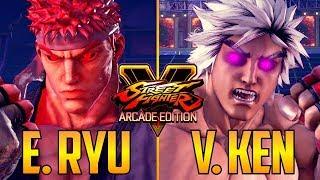 Download SFV ▰ Evil Ryu Vs Violent Ken In Street Fighter V Video