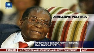 Download Zimbabwe's Paliament To Summon Former President Over 'Diamond Theft' Pt.4  News@10  20/04/18 Video