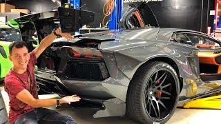 Download ЖЕНА на LAMBORGHINI?! 210 000 000 РУБ за Ferrari F50 + F40! GMP Cars и Джеф. AVENTADOR LIBERTY WALK. Video