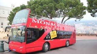 Download Open top bus tour of Monaco Video