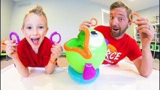 Download Father & Son PLAY FISH & FLIPS! / Toss Your Worms! Video