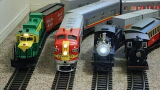 Download Big model trains running inside my small house Video