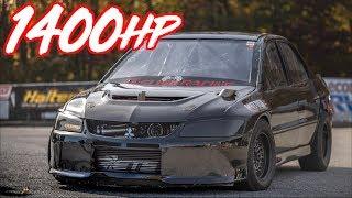 Download Quickest Evos in the World! - 1400HP Evo 8 and Evo X Record Video