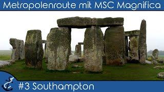 Download Kreuzfahrt-Vlog - Metropolenroute mit MSC Magnifica 2018 #3 Southampton (Salisbury & Stonehenge) Video