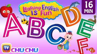 Download ABCDEF Alphabet songs with Phonics Sounds & Words for Children | Learning English with ChuChu TV Video