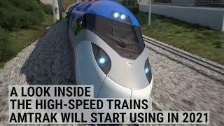 Download A look inside the high-speed trains Amtrak will start using in 2021 Video
