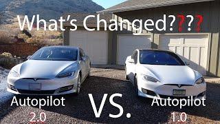 Download Tesla Model S Autopilot 1.0 VS. 2.0! What's Changed?! Video