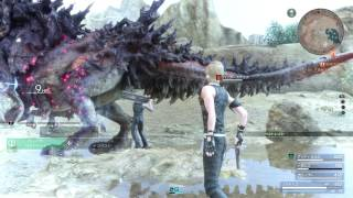 Download FINAL FANTASY XV - Bandersnatch Boss Fight l Level 10 Vs. Level 38 Boss Video