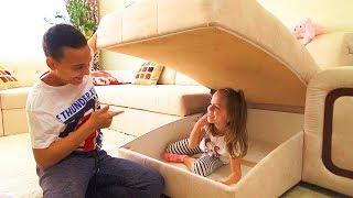 Download ПРЯТКИ в нашем ДОМЕ с родителями Hide and seek spot at home Challenge Video