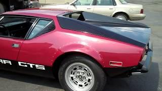 Download 1974 De Tomaso Pantera GTS Fastest Car in World Circa 1974 Video