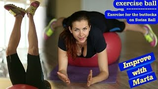 Download Exercise for the buttocks on Swiss Ball - Improve with Marta Video