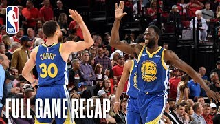 Download TRAIL BLAZERS vs WARRIORS | Golden State Eyes a Trip to Their 5th Consecutive NBA Finals | Game 4 Video