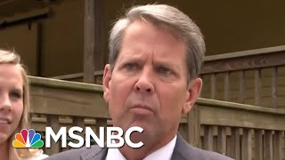Download Is Georgia's Republican Gubernatorial Candidate Suppressing Minority Voters? | Deadline | MSNBC Video