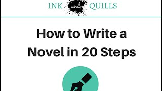 Download How to Write a Novel in 20 Steps Video
