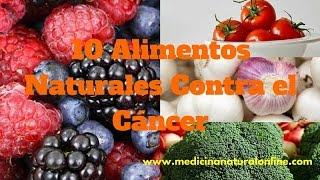 Download 10 ALIMENTOS NATURALES CONTRA EL CÁNCER - UNA AYUDA MUY IMPORTANTE Video