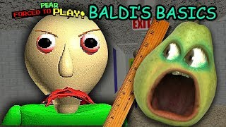 Download Pear FORCED to play BALDI'S BASICS! Video