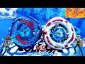Galaxy Pegasis W105R²F VS Meteo L-Drago LW105LF - Gingka vs Ryuga - Epic Beyblade Battle!!!