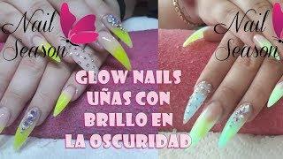 Download Glow Nails Baby Boomer paso a paso Uñas con brillo en oscuridad Video
