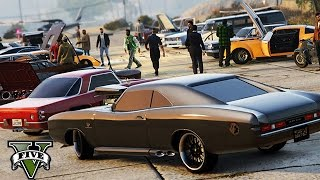 Download GTA 5 - Oldtimer Car Meet ! Video