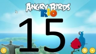 Download Let's Play Angry Birds Rio 15 - The Golden Apples Video