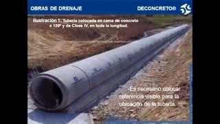Download Tubería de concreto en zanja inducida Video