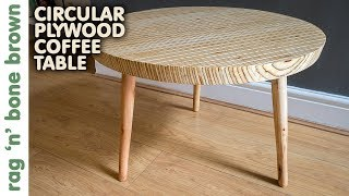Download Circular Plywood Coffee Table Video