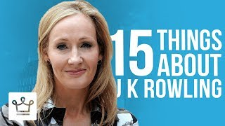Download 15 Things You Didn't Know About J. K. Rowling Video
