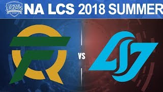 Download FLY vs CLG - NA LCS 2018 Summer Split W8D2 - FlyQuest vs Counter Logic Gaming Video