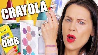 Download CRAYOLA CRAYONS MAKEUP TESTED ... OMG Video