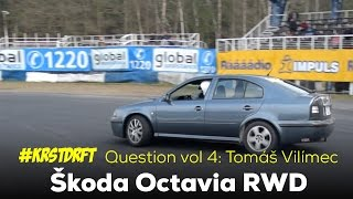 Download Skoda Octavia RWD Drift - #KRSTDRFT Questions vol 4 - Tomáš Vilímec Video