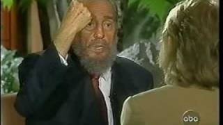 Download 20/20 Fidel Castro interview - Barbara Walters [3of6] Video