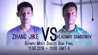 Download Rio 2016 Men's Semifinal I Zhang Jike v Samsonov Video